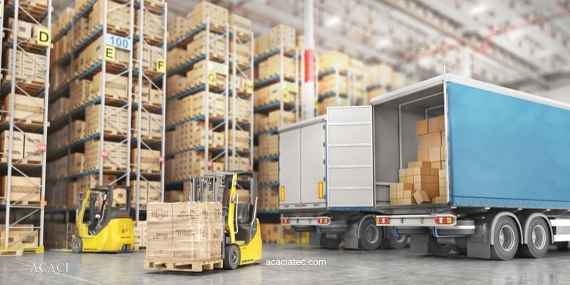 ¿Cómo es el envío de carga a un centro logístico?