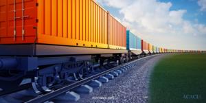 ¿Qué es el transporte ferroviario de mercancías?